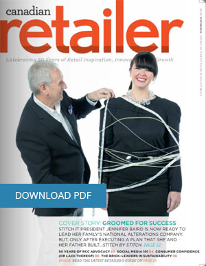 canadian retailer magazine cover